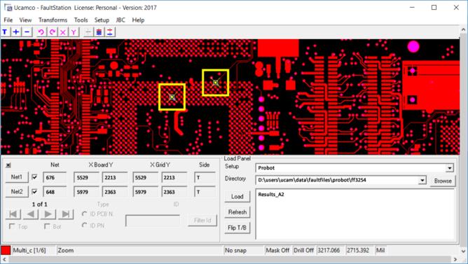 UcamX Screendump